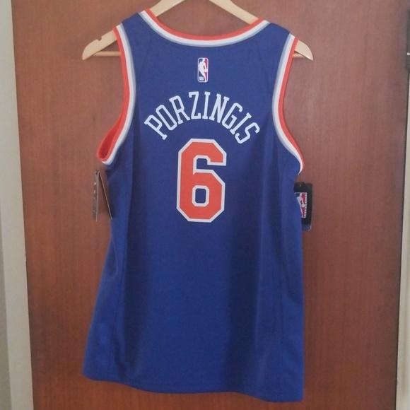 Porzingis New York Knicks jersey NEW Men's size S